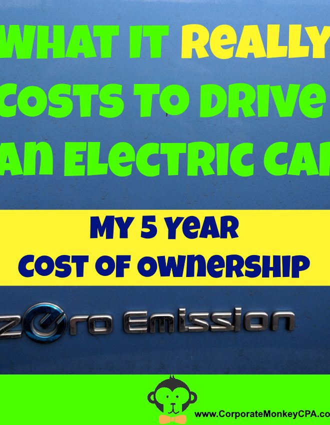 What It Costs To Drive My Electric Vehicle