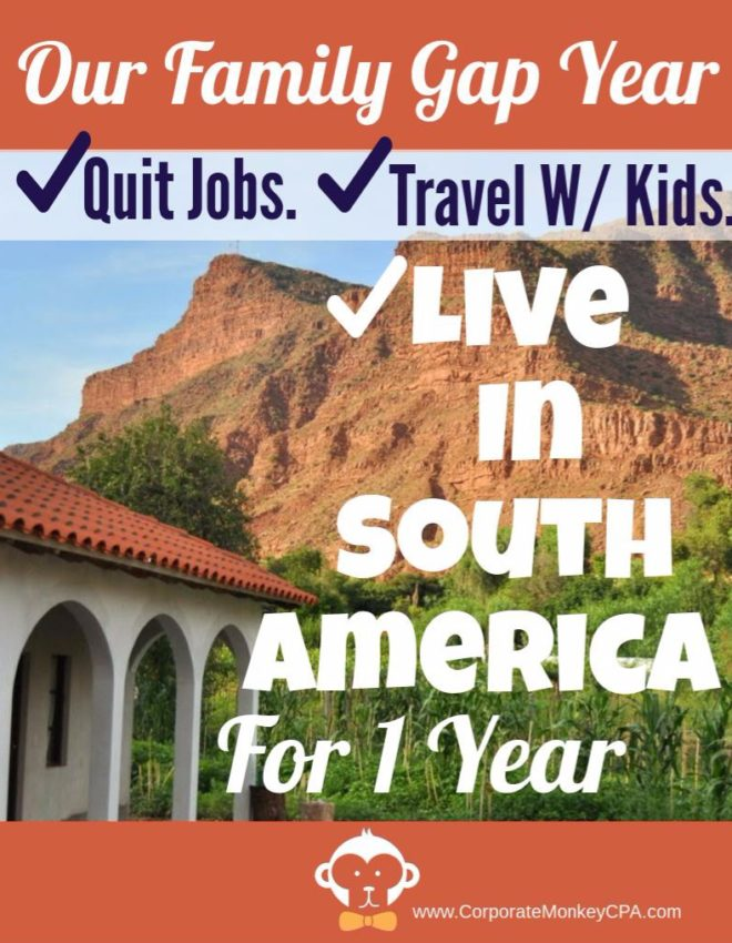 My Big Plans – A Family Gap Year to South America