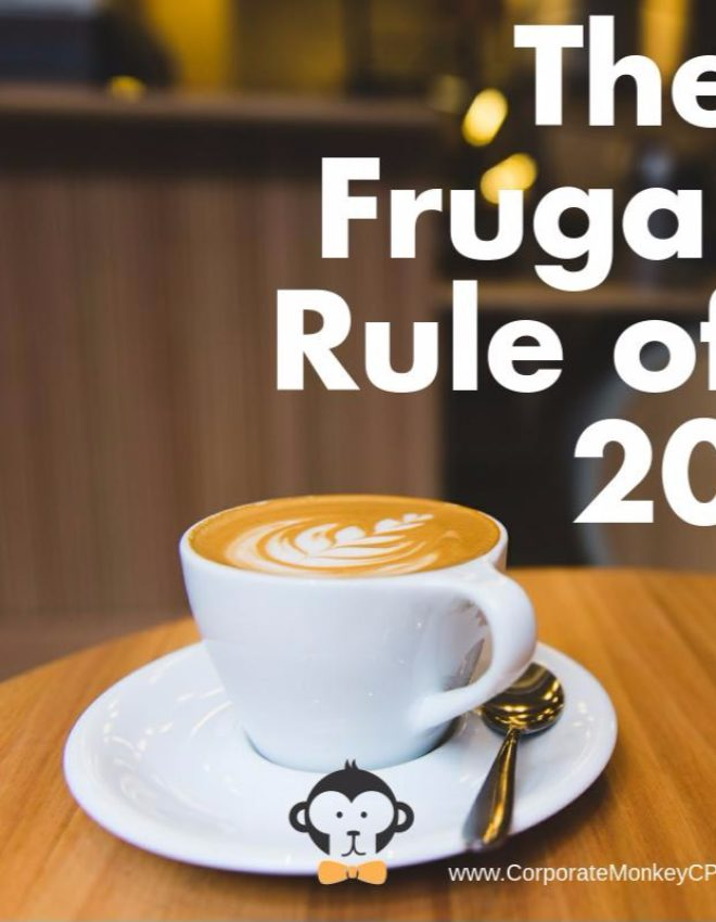 The Frugal Rule of 20 – Why Your Daily Latte Is Costing You $30,000