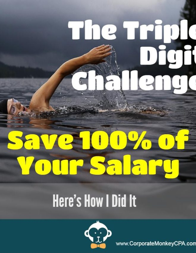 The Triple Digit Challenge:  100% 401(k) Contributions