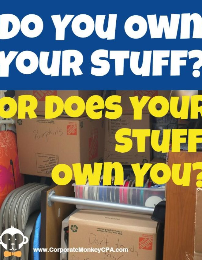 Material Freedom – Does Your Stuff Own You?