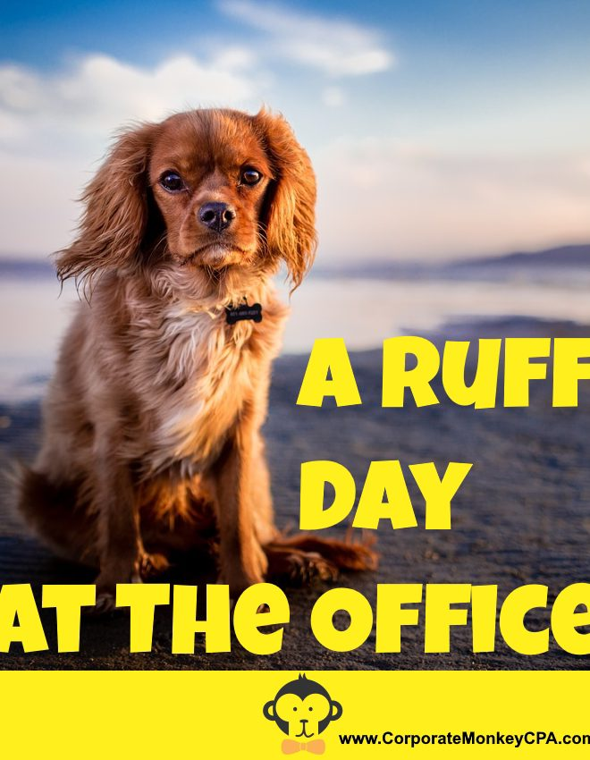 Having A Ruff Day At The Office