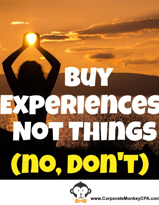 (Don't) Buy Experiences, Not Things
