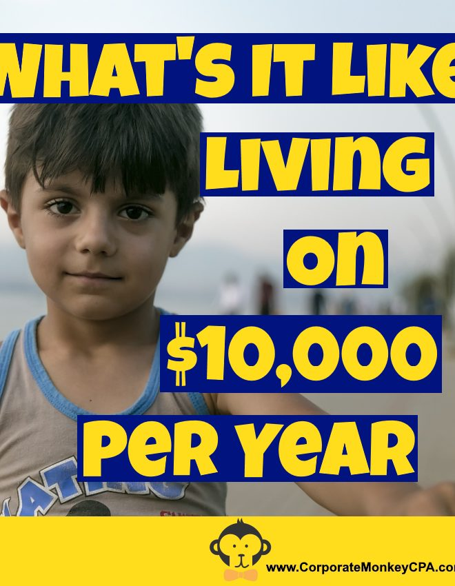What's It Like Living On $10,000 Per Year?