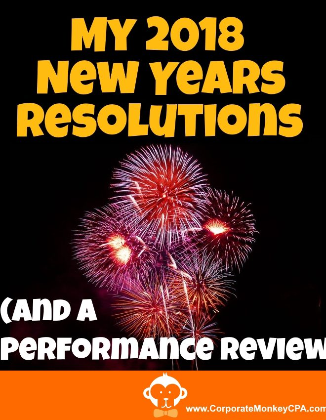 My 2018 New Years' Resolutions and Year-End Performance Review