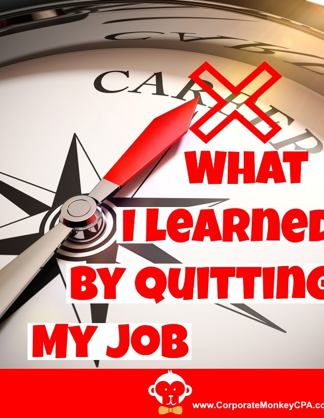 Perspectives About Quitting My Job
